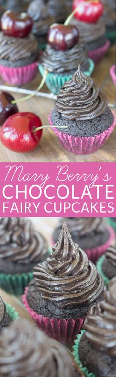 The Great British Baking Show ♥♥ (Great British Bake Off) is a favorite baking show. Learn how to make Mary Berry's Fairy cakes with this easy Chocolate Cupcake Recipe. Make this…