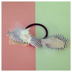 Ribbon BU hair elastic