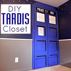 How To: TARDIS Closet