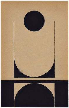 Louis Reith - Geometric art by Dutch artist Louis Reith who uses ink, pencil and collage. His study of shapes and the relationships between them make for inte. Art Minimaliste, Vintage Illustration, Art Graphique, Op Art, Grafik Design, Geometric Art, Geometric Designs, Geometric Painting, Minimalist Art
