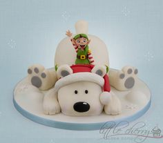 Polar Bear - by littlecherry @ CakesDecor.com - cake decorating website