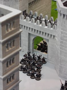 Porte de Minas Tirith vue depuis un autre angle