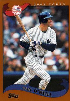 NEW YORK YANKEES - Paul O'Neill #117 TOPPS 2002 Series 2 MLB Baseball ...