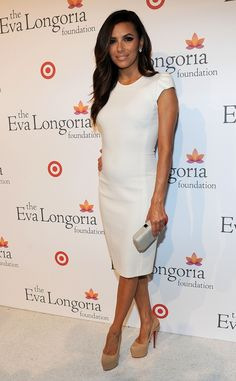 Eva Longoria, hosting a pre-ALMA Awards dinner on September 15, 2012.