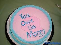Just a polite reminder. On a cake