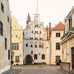 Beautiful old city Riga from for you on Riga, Old City, Notre Dame, Mansions, House Styles, Instagram, Building, Places, Travel