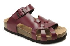 http://www.coolbirkenstock.com/birkenstock-pisa-sandals-wine-red-on-sale.html Only$41.00 BIRKENSTOCK PISA SANDALS WINE RED ON SALE #Free #Shipping!