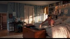 Hazel Grace's bedroom, from The Fault In Our Stars.