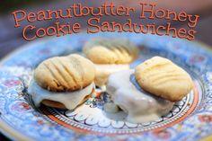 Rya Pie: Peanutbutter Honey Cookie Sandwiches