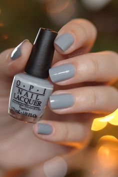 OPI Cement the deal (fifty shades of grey)