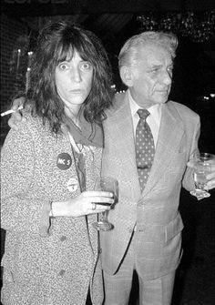 Patti Smith and Leonard Bernstein