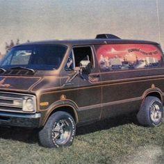 70s Dodge van'...