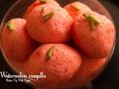 Watermelon Rasgulla / Diabetic Friendly Sweet – Batter Up With Sujata