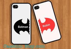 Batman & Robin Case  Couple iPhone Case  iPhone 5 Case by Casetino, $30.00
