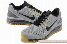 outlet store 59998 fb260 nike air max 2013 mens gray yellow black sneakers p 2613