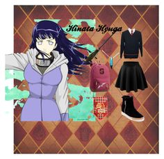 """""""Hinata"""" by isadora-rohling on Polyvore featuring moda, LE3NO, Steven by Steve Madden, PBteen, Nimbus e Warner Bros."""
