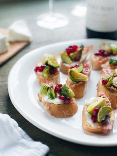 Roasted Brussels Sprouts with Bacon Crostini