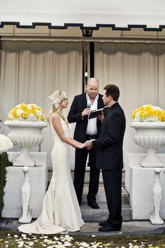 modern viceroy palm springs wedding.
