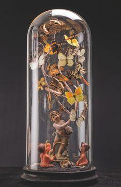 -Laurent Gauthier-  *Boites à insectes.  'L'espérance'  (technique mixte. 2014)