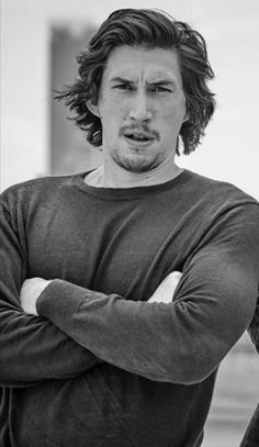 Adam Driver at the British GQ covershoot (2017) By Matthew Brookes