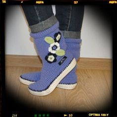 Crochet Boots Uki-Crafts Crochet Boots  Boots Made to by ukicrafts
