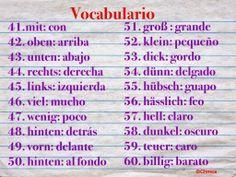Ich bin, du bist, sie..: WORTSCHATZ (VOCABULARIO) 41-60