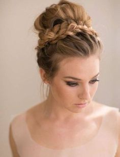 A #top #knot #bun is a #bundle of #hair wound into place on the top of your #head. ..Top knot #hairstyles #Hot #Hairstyle #Trend, #messy top #bun #top knot #bun #tutorial top #knot #bun #natural #hair