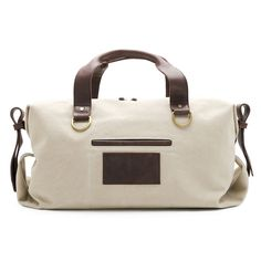 Fab.com | Walker Day Bag Bone Espresso