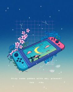'LoFi Switch' 🌙 by 𝚁𝚘𝚗𝚊𝚕𝚍 𝙺𝚞𝚊𝚗𝚐- Marylou Arte Do Kawaii, Art Kawaii, Art Anime, Anime Kunst, Aesthetic Gif, Aesthetic Wallpapers, Aesthetic Videos, Kawaii Drawings, Cute Drawings