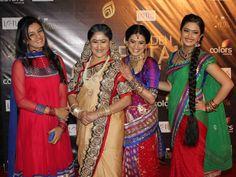 sasural simar ka team Marriage Images, Indian Show, Popular Shows, Sari, Actors, Hair Styles, Drama, Color, Tv