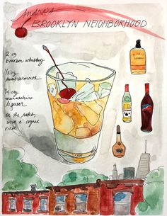"Check out my @Behance project: ""Cocktail Illustrations"" https://www.behance.net/gallery/52051835/Cocktail-Illustrations"
