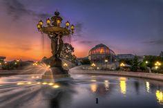 Bartholdi Fountain at the US Capitol