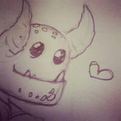Follow me on instagram : virai_cioce #monster #cute #love