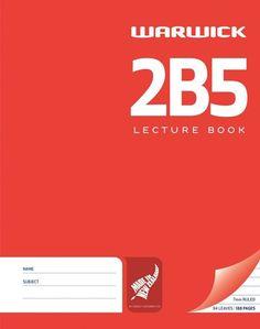 Warwick 2B5 94lf 7mm Ruled Lecture Book $7.99