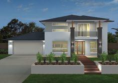 Ausbuild Home Designs: Arabella Island Facade. Visit www.localbuilders.com.au/builders_queensland.htm to find your ideal home design in Queensland