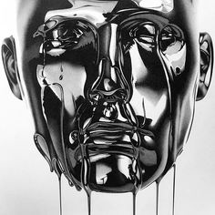 by Alessandro Paglia -Mind-Blowing Ultra Realistic Drawings - Tattoo MAG Tattoo Drawings, Art Drawings, Drawing Faces, Pencil Drawings, Italian Artist, Realistic Drawings, Icon Design, Flat Design, Design Design