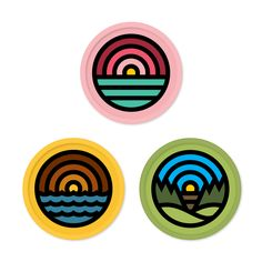 Draplin - 3 Patches Pack