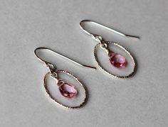 Mystic Topaz Gemstones in Sterling Silver Textured Hoops Earrings by ILgemstones on Etsy