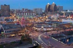 The Plaza area of Kansas City. Best steak i ever had was here.and KC Masterpiece wasn't bad either. Kansas City Plaza, Kansas City Missouri, Places Ive Been, Places To Go, Spring Break 2015, City Pride, Land Of Oz, Brick Road, Travel Memories