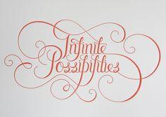 infinite possibilities...yes!