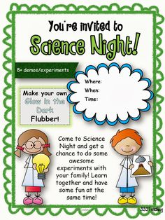 Sparkles, Smiles, and Successful Students: Ultimate Family Science Night