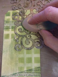 Yours Artfully: Dina Wakley stamps & Pan Pastels (step by step tutorial)