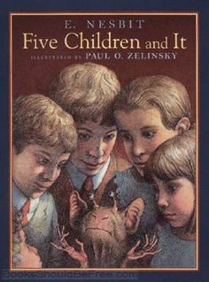 Five Children and It by E. Nesbit.  Free audiobook download or streaming from BooksShouldBeFree.