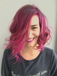 Pink balayage by Beth