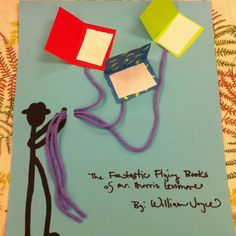 "Storytime Craft for William Joyces ""The Fantastic Flying Books of Mr. William Lessmore"""