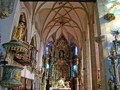 nterior, Cathedral of St. Nicholas, Presov, Slovakia