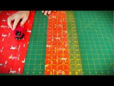 A rotary cutter and self healing mat are important quilting tools where precision cutting is vital. I think they are equally useful tools for general sewing! Sewing Hacks, Sewing Tutorials, Sewing Projects, Sewing Diy, Video Tutorials, Sewing Ideas, Quilting 101, Quilting Tools, T Shirt Tutorial