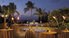 The Ritz-Carlton, Kapalua - The Plantation Patio connects to an expansive ballroom that can accommodate up to 140 people.