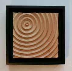 Water Ripple CNC Carving by Roger Gaborski