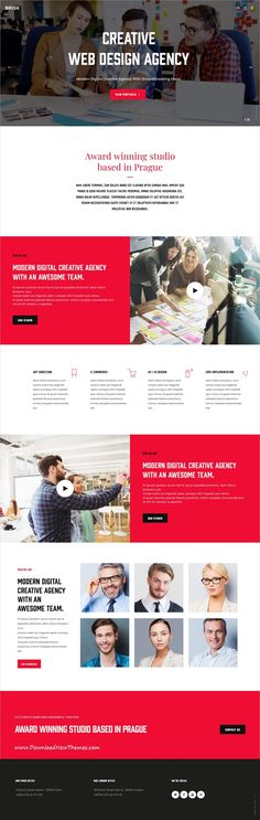 Brisk is clean and modern design responsive multipurpose #WordPress template for #digital #agency website with 25+ niche homepage layouts to live preview & download click on image or Visit #websitetemplate